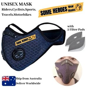 Unisex Cycling Face Maak with Two Breathing Valves